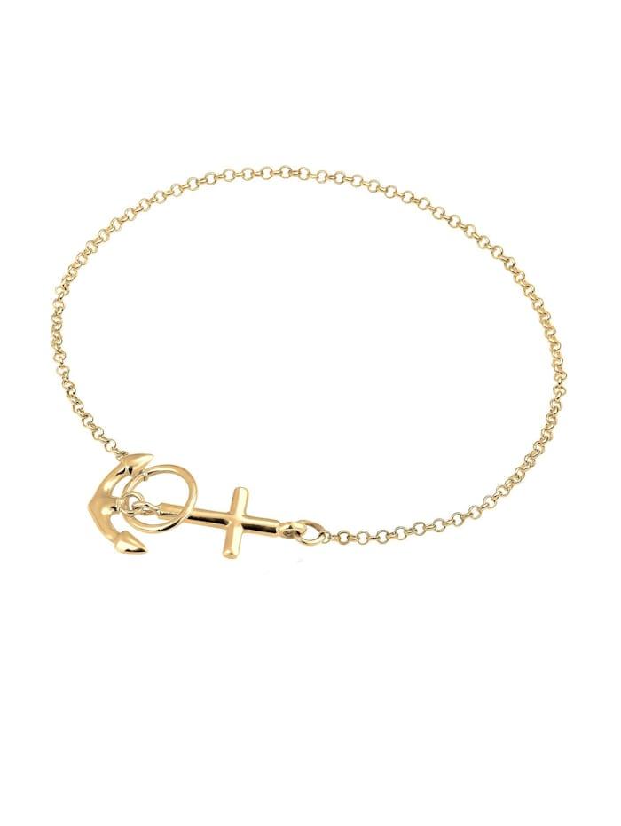 Armband Anker Kreuz 925 Sterling Silber