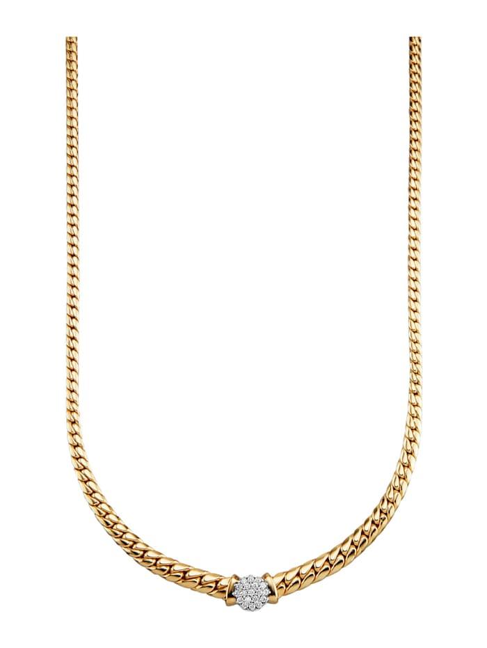 Diemer Diamant Halsband med briljanter, Vit