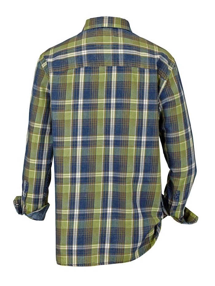 Hemd in leichter Used-Optik