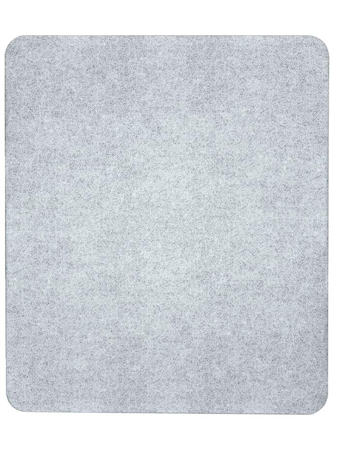 Wenko Herdabdeckplatte Universal 3 in 1, für alle Herdarten, Platte: Transparent, Füße: Grau - Hellgrau, Saugnäpfe: Transparent