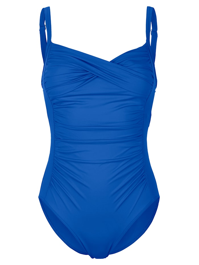 Sunflair Badpak in wikkellook, royal blue