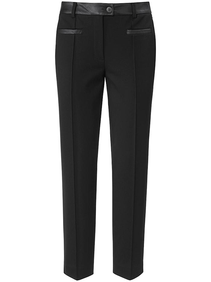 Basler Hose DIANA aus unifarbenem Jersey-Stoff mit Ziernähten, black