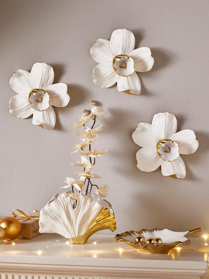 Wanddekoration Orchidee