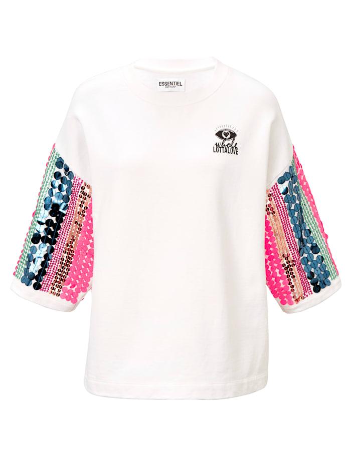 ESSENTIEL ANTWERP Sweatshirt, Off-white