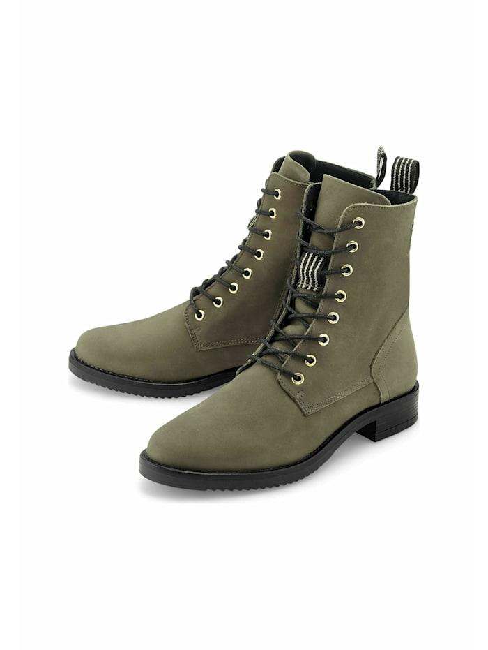 COX Schnür-Boots Schnür-Boots, khaki