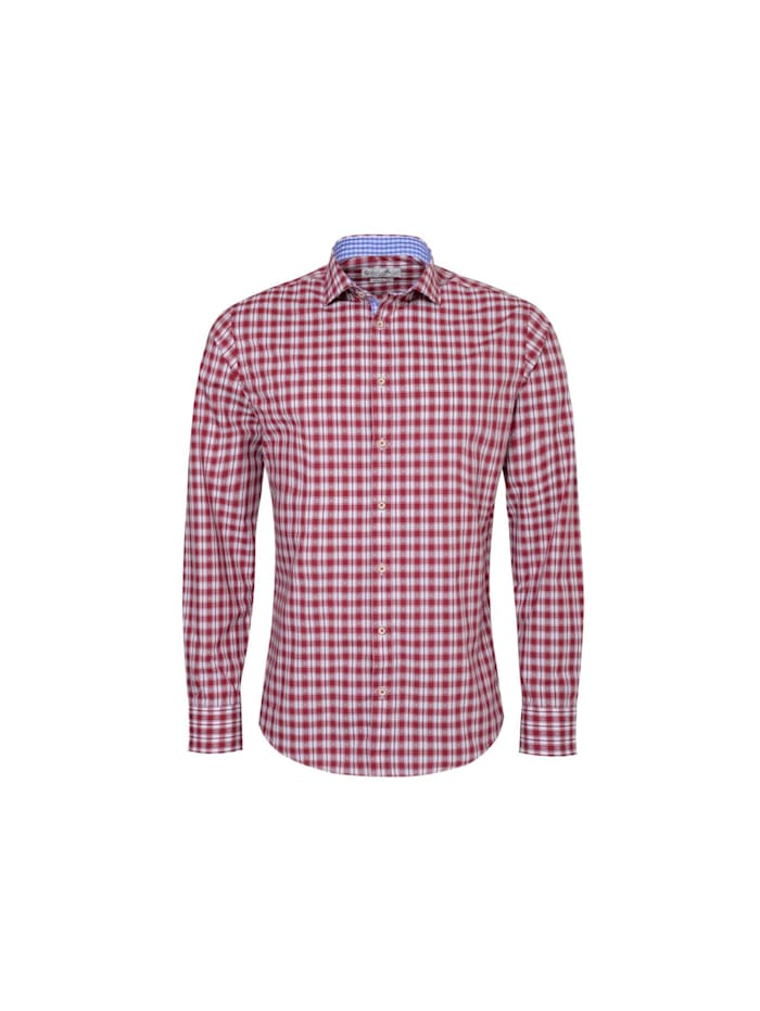 Gweih&Silk Trachtenhemd, Rot