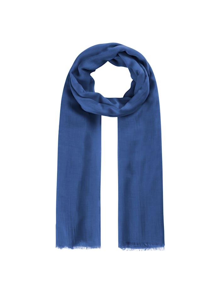 Codello Supersofter XL-Schal aus Bambus, navy blue