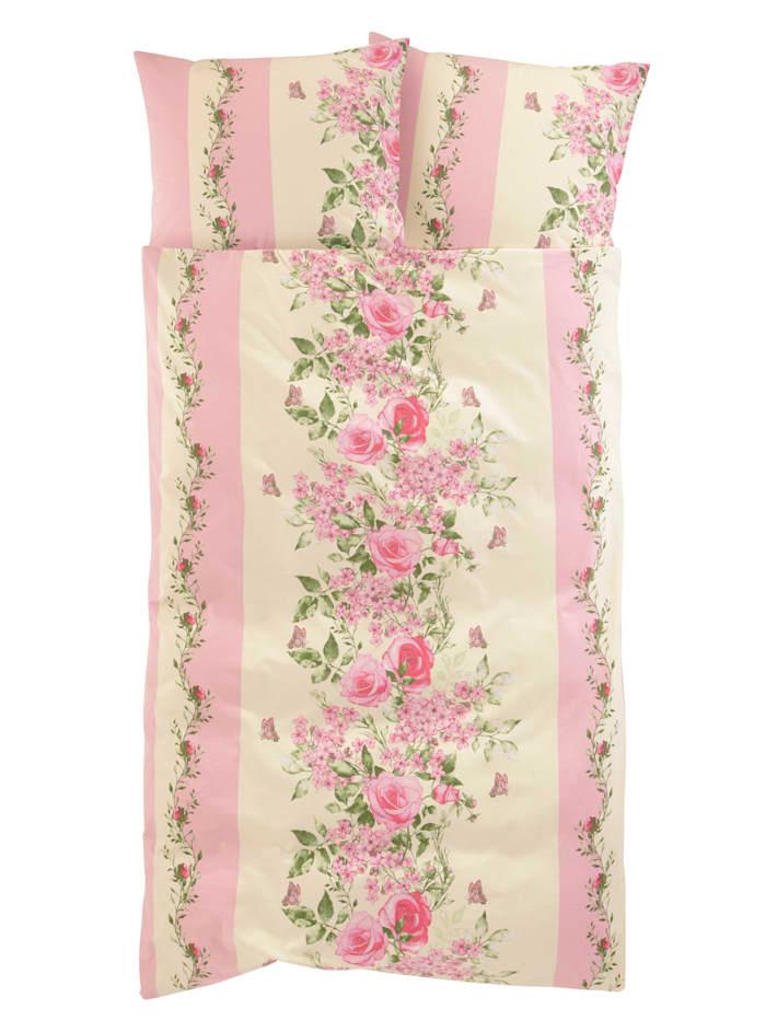 Webschatz 2-delige set bedlinnen Amelia, roze
