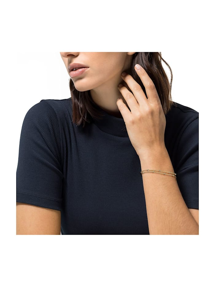 JETTE Silver Damen-Armband Lucky Charm 925er Silber