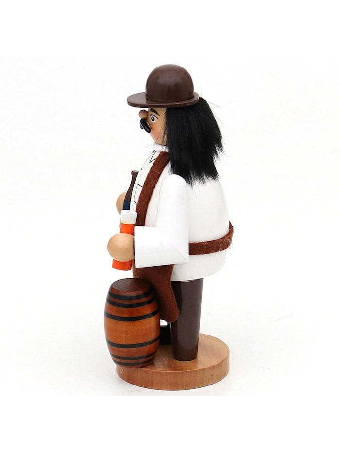 Holz Räuchermann Bierbrauer