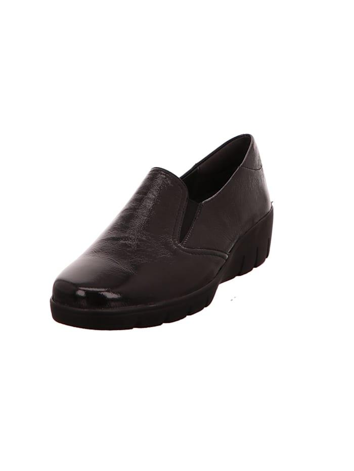 Semler Damen Slipper in schwarz, schwarz