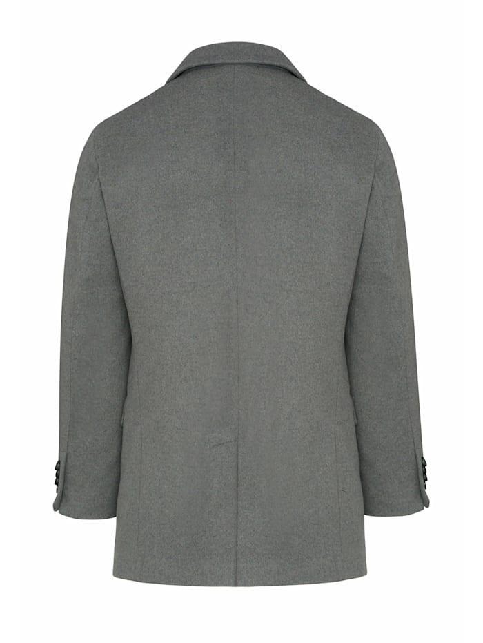 Mantel mit figurbetontem Schnitt
