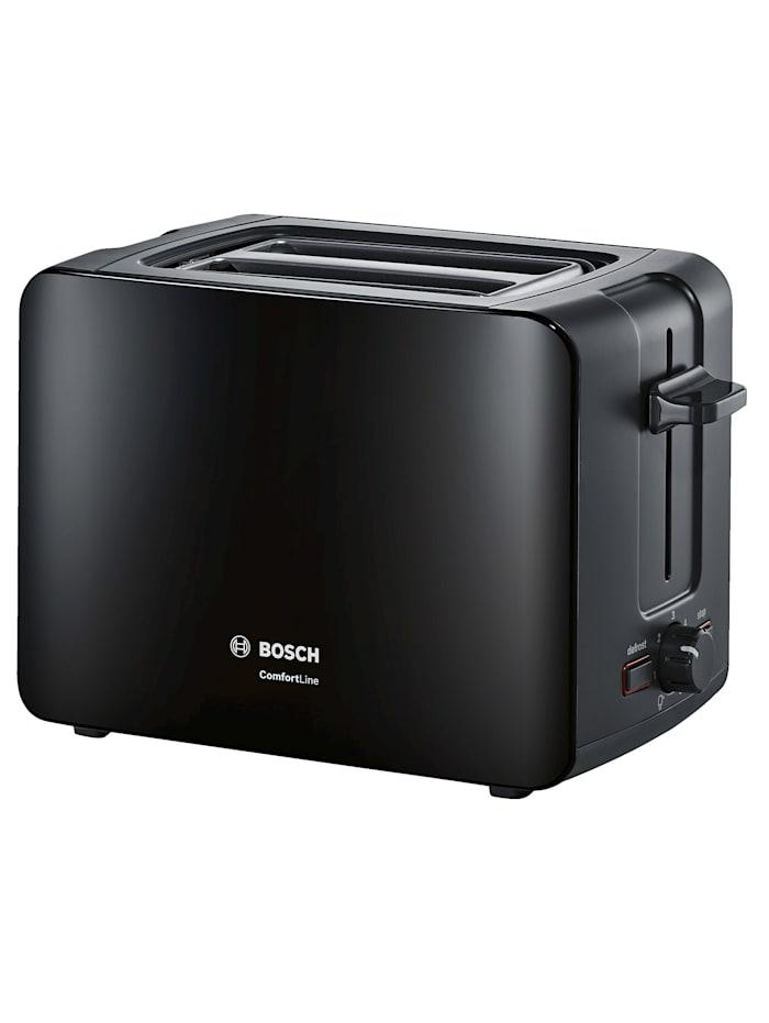 Bosch Bosch compacte broodrooster ComfortLine, Zwart