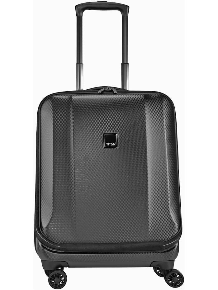 Titan Xenon Deluxe 4-Rollen Business Trolley 55 cm Laptopfach, graphit