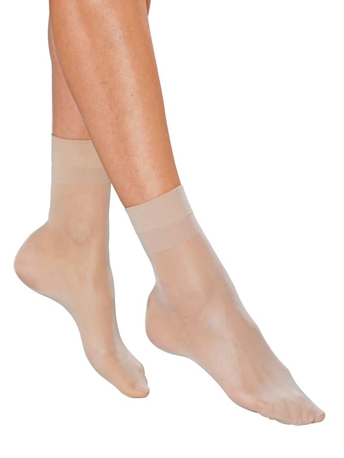 Socquettes fines à bordure très douce