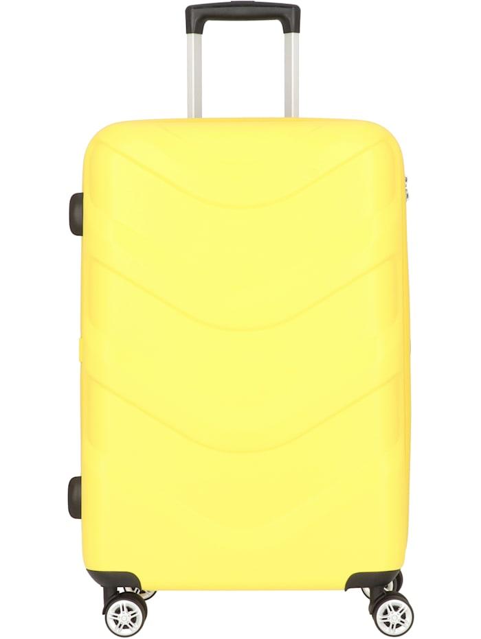 Stratic Arrow 2 4-Rollen Trolley 65 cm, yellow