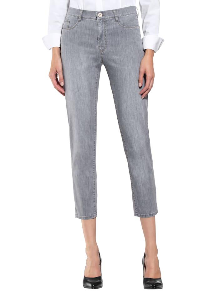 BRAX Jeans in sommerlich leichter Qualität, Grau
