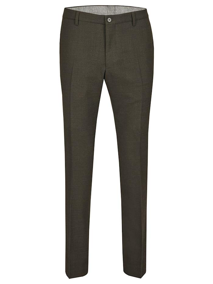 Daniel Hechter DH2O Waschbare Anzug-Hose, olive