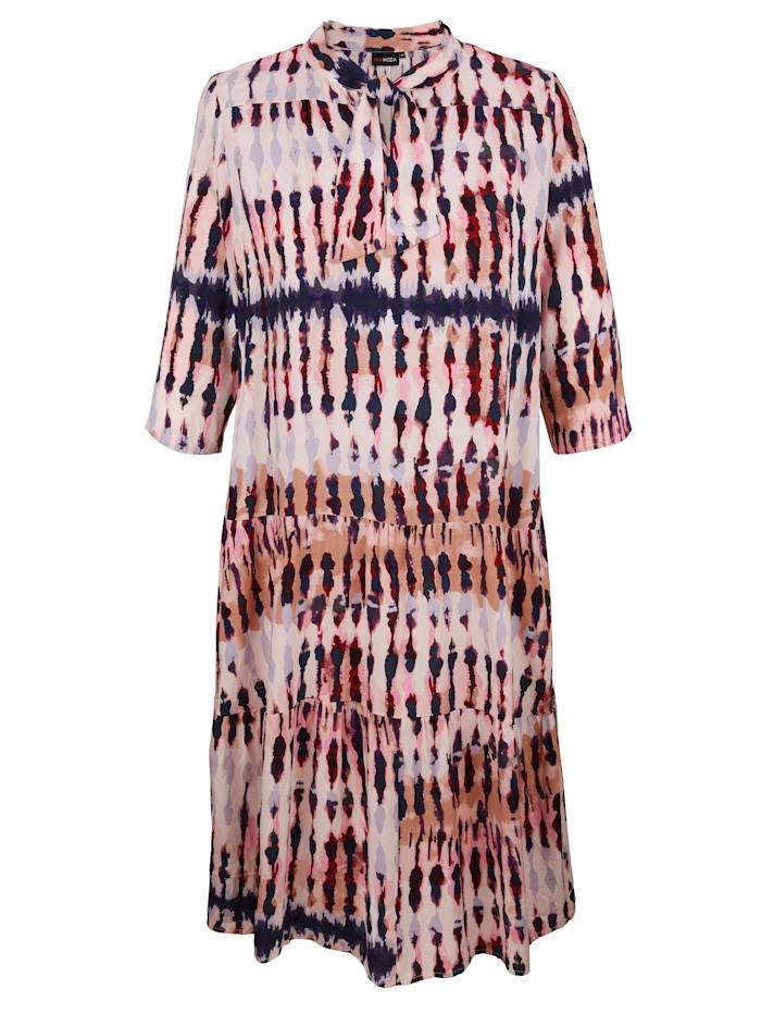 MIAMODA Kleid mit Schluppe, Rosé