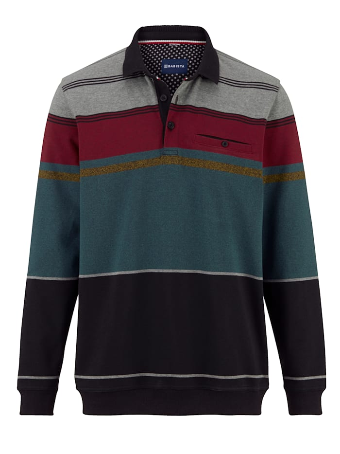 Sweatshirt van strijkvrij materiaal
