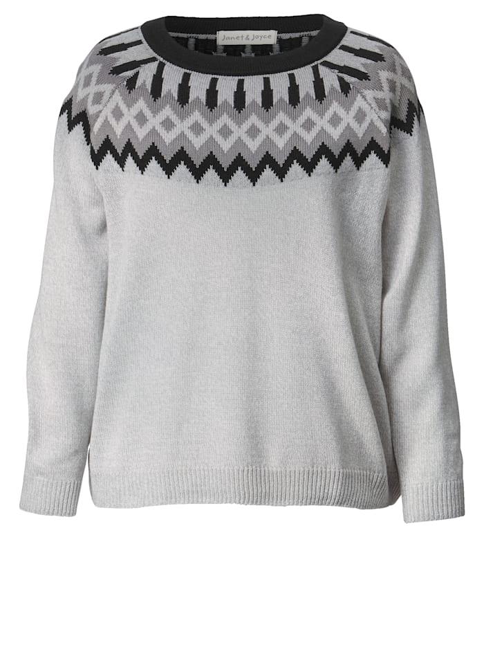 Pullover mit Jacquardmuster