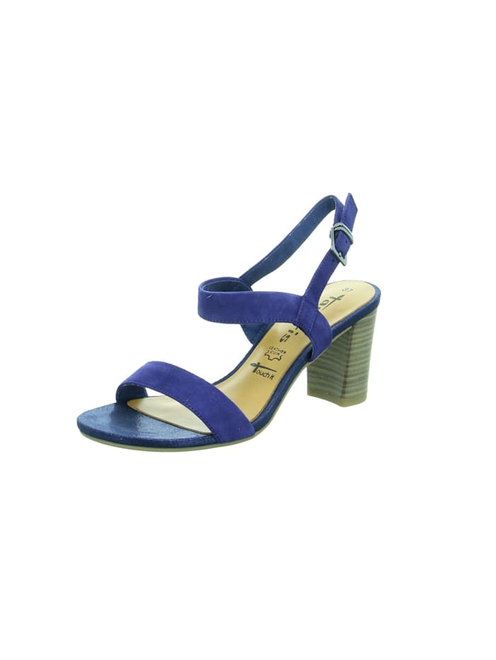 Tamaris Sandalen/Sandaletten, blau