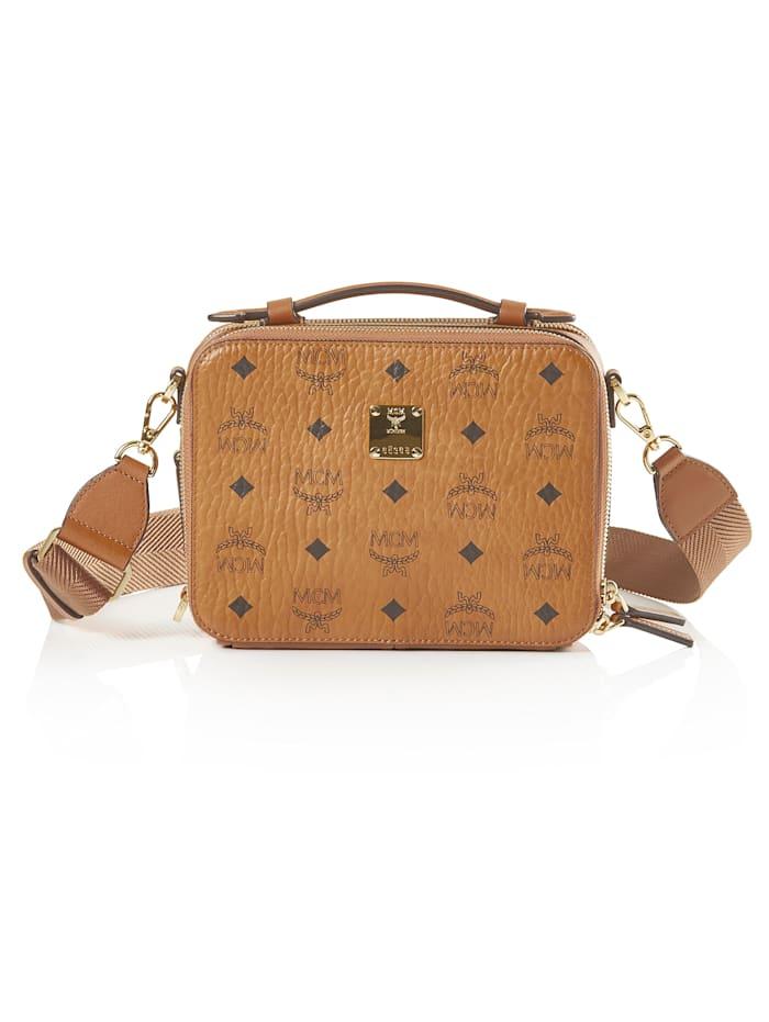 MCM Kamera-Bag, cognac