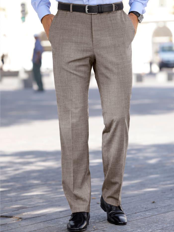 BABISTA Wollen broek met 7 cm meer bandwijdte, Beige