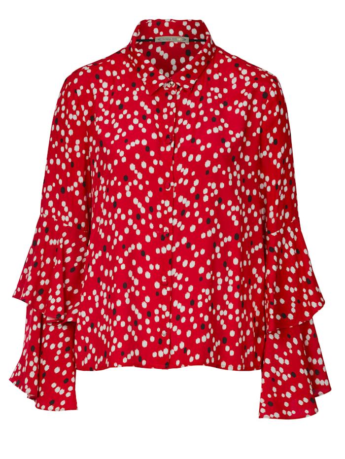 Patrizia Pepe Bluse, Rot