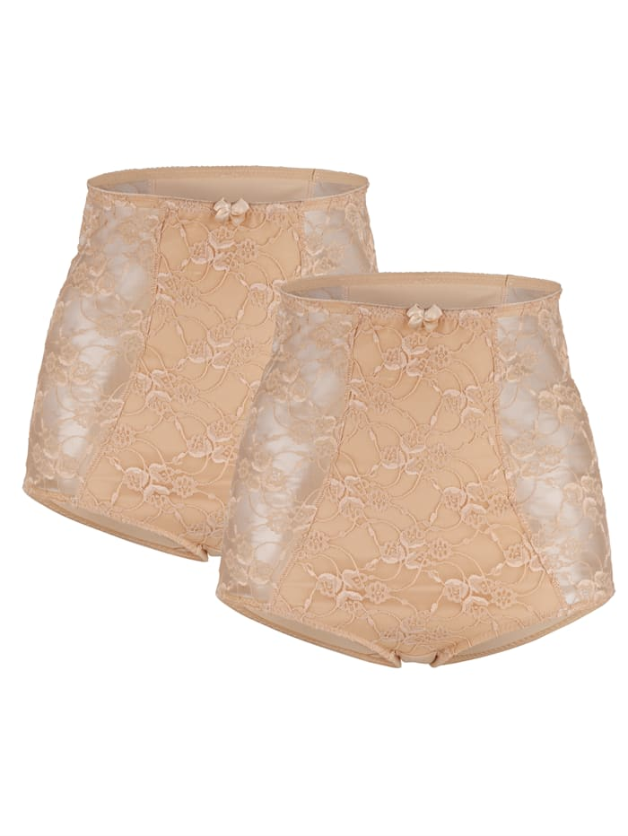 """Harmony Culottes en coton issu du programme """"Cotton made in Africa"""", Nude"""
