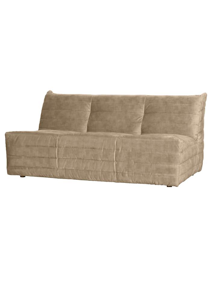woood Sofa, sand
