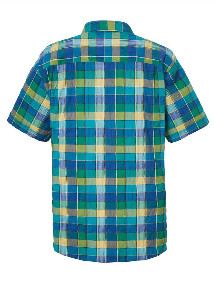 Overhemd van onderhoudsarm materiaal