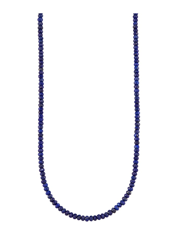 Diemer Highlights Lapislazuli-Kette mit Lapislazuli, Blau