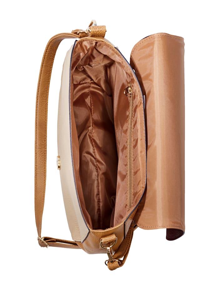 Väska med utbytbart lock
