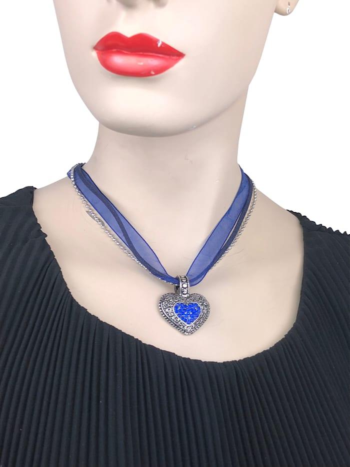 Halskette für Tracht Lissi mit Herzanhänger