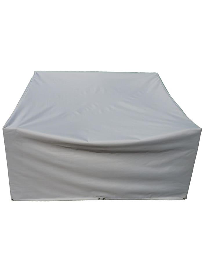 Grasekamp Schutzhülle zu Lanzarote Lounge 2er Sofa  Polyester/PVC, Grau