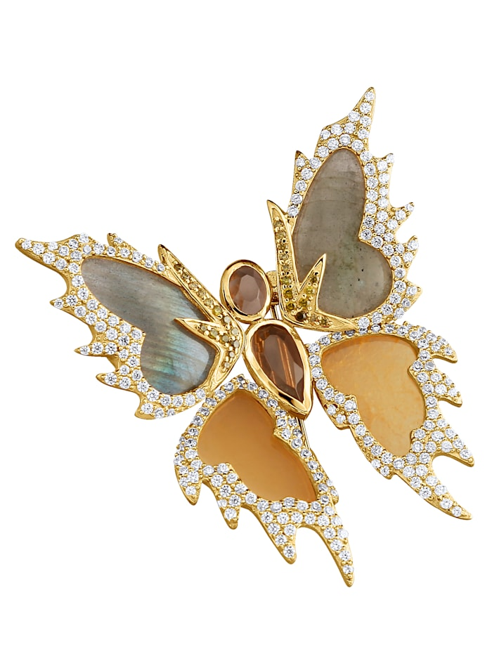 Broche Vlinder, Multicolor