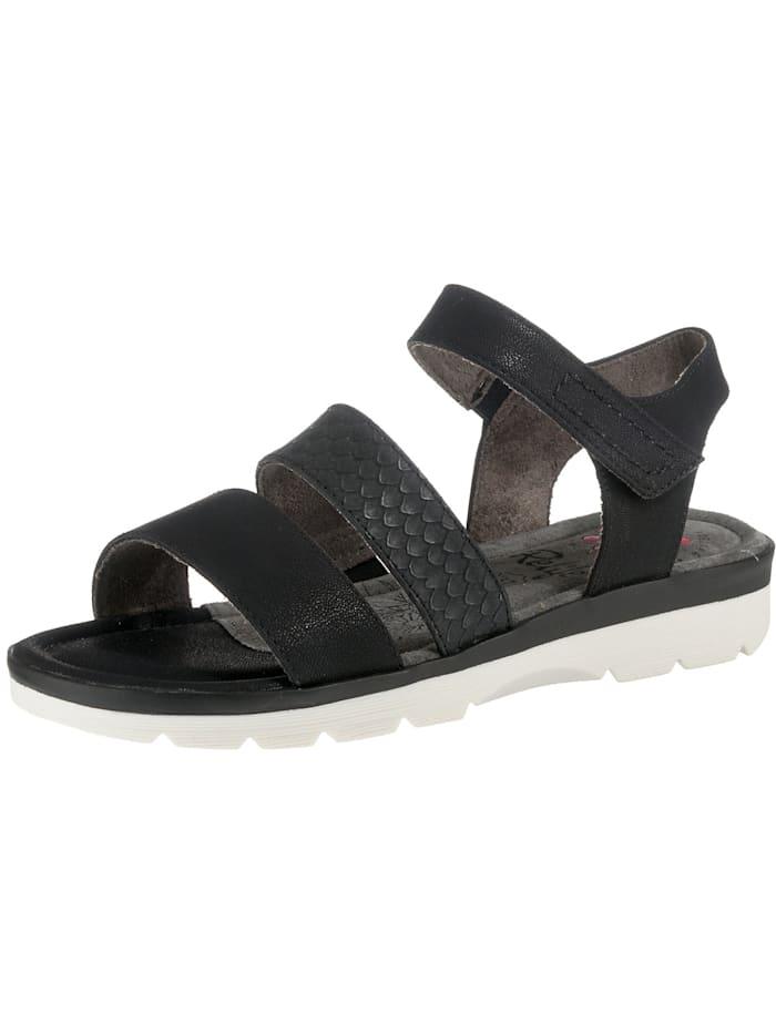 Relife Klassische Sandalen, schwarz-kombi