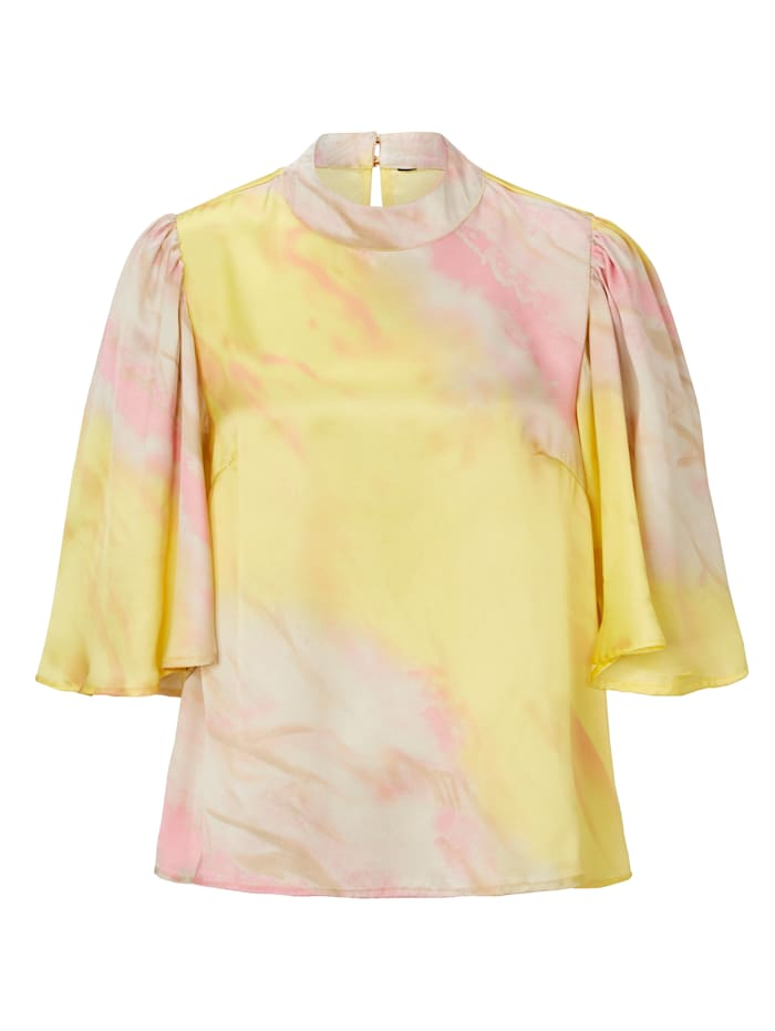 CONLEYS PURPLE Batikbluse, Multicolor