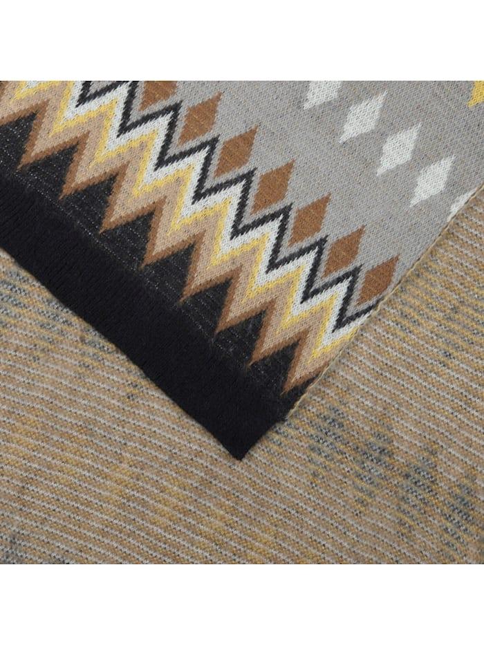 Kuscheliger Oversized-Schal im Norweger-Style