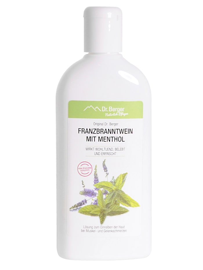 Dr.Berger Franzbranntwein met menthol, neutraal
