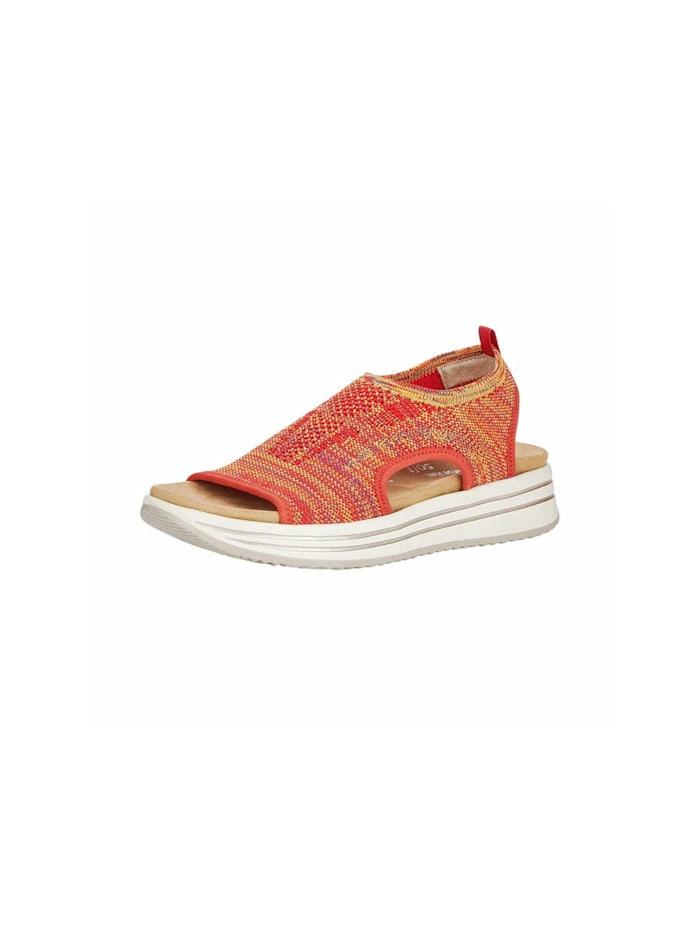 Remonte Sandalen/Sandaletten, rot