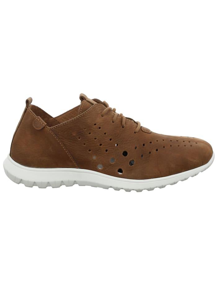 Josef Seibel Damen-Sneaker Malena 09, castagne