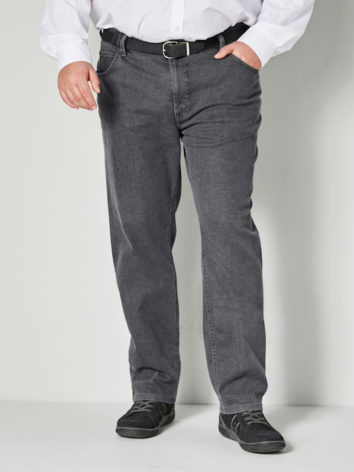 Pioneer Jeans 5-Pocket-Form, Grau