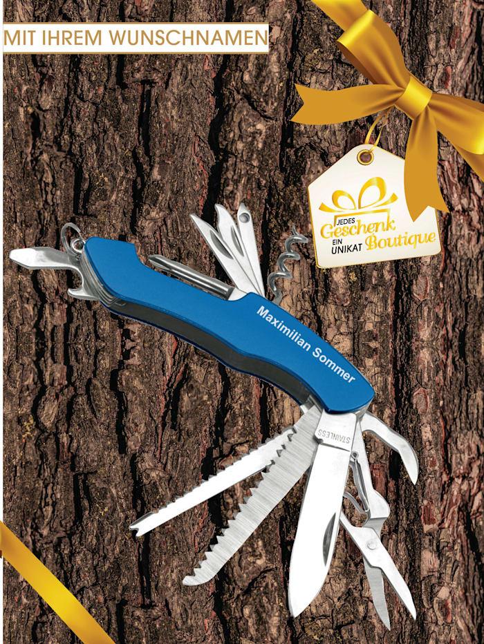 Werkzeugmesser mit Gravur