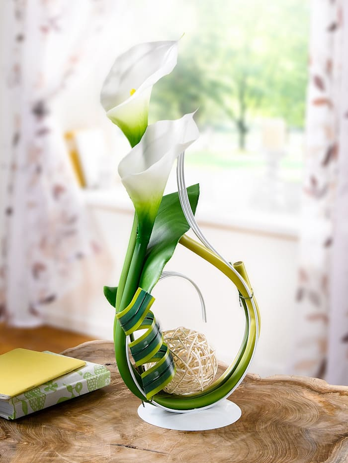 Konstgjord växt, kalla, Grön