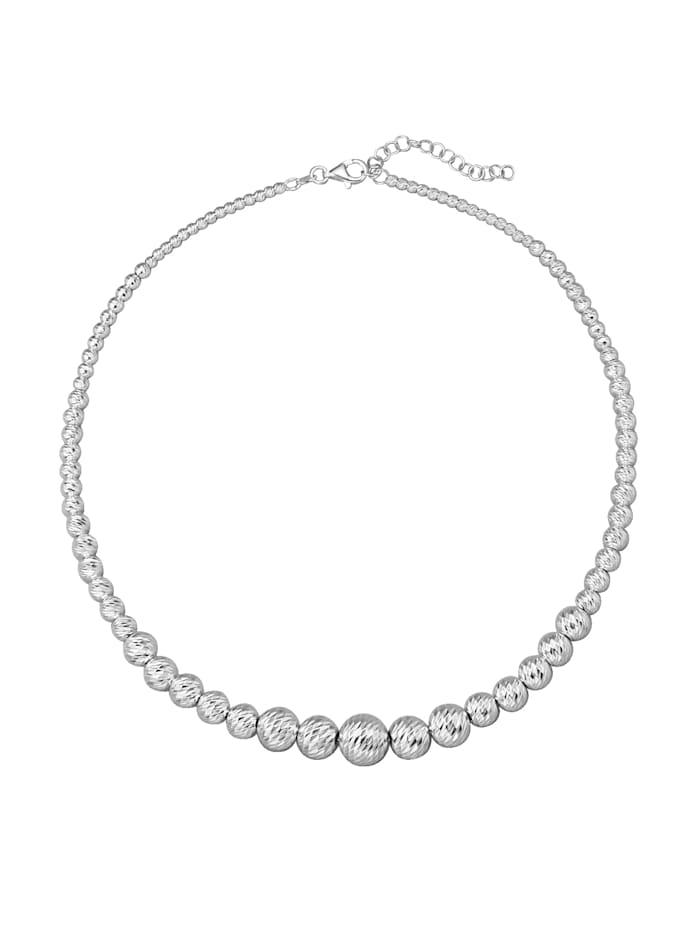 AMY VERMONT Kugelkette in Silber 925, Silberfarben