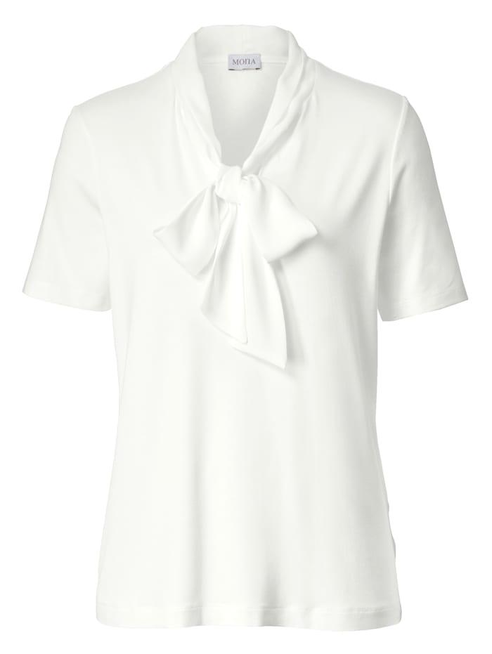 T-shirt col lavallière