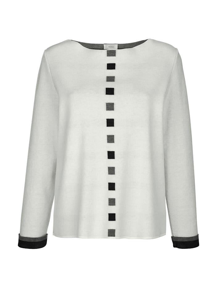 Pullover in Jaquard-Qualität