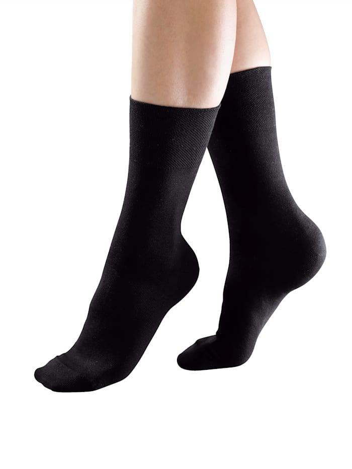 Ponožky s komfortní gumičkou ideální pro diabetiky